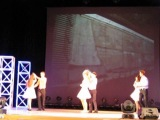 Выступление студентов ХМФ на конкурсе
